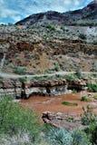 San Carlos Apache Indian Reservation, Gila County, Arizona, Vereinigte Staaten lizenzfreie stockbilder