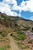San Carlos Apache Indian Reservation, Gila County, Arizona, Vereinigte Staaten lizenzfreie stockfotografie