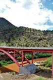 San Carlos Apache Indian Reservation, Gila County, Arizona, Vereinigte Staaten lizenzfreies stockbild