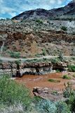 San Carlos Apache Indian Reservation, Gila County, o Arizona, Estados Unidos imagens de stock royalty free