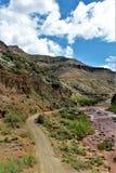 San Carlos Apache Indian Reservation, Gila County, o Arizona, Estados Unidos fotografia de stock royalty free