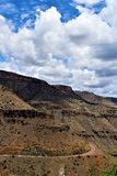San Carlos Apache Indian Reservation, Gila County, o Arizona, Estados Unidos imagem de stock