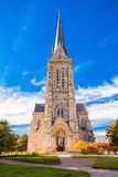 San Carlos Bariloche Cathedral. Cathedral of San Carlos de Bariloche in the centre of Bariloche, Patagonia region in Argentina Stock Images