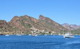 San Carlos Bay, Sonora Mexico. Pic of the bay of San Carlos Sonora, Mexico Royalty Free Stock Photography
