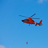 SAN CARLOS, CA - 19 JUIN : Hélicoptère Eurocopter HH Images libres de droits