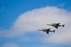 SAN CARLOS, CA - JUNE 19: AV-8B Harrier Jump Jet Royalty Free Stock Photo