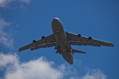 SAN CARLOS, CA - JUNE 19: C-5 Galaxy on display at Stock Photography