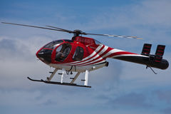 SAN CARLOS, CA - JUNE 19: Hughes/MD Helicopters MD. 500 Series on display at the Vertical Challenge 2010, June 19th, 2010, , at the Hiller Aviation Museum in Stock Photography
