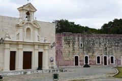 San Carlos chapel at La Cabana fortress at Havana Royalty Free Stock Image
