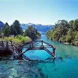 SAN Carlos de Bariloche, επαρχία νέγρων του Ρίο, Αργεντινή Στοκ Εικόνες
