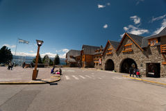 San Carlos de Bariloche. A touristic village in the Argentine Patagonia Royalty Free Stock Photography
