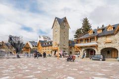 San Carlos de Bariloche en Santa Cruz Province, la Argentina fotos de archivo