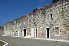 San Carlos de la Cabana Fort, Havana, Cuba stock images