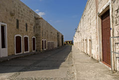 San Carlos de la Cabana Fort, Havana, Cuba Royalty Free Stock Photography