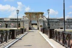 San Carlos de La Cabana Fortress royaltyfria bilder