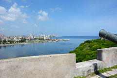 San Carlos de La Cabana Fortress Foto de archivo libre de regalías