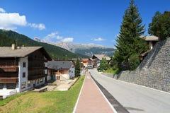 San Cassiano in Val Badia Royalty Free Stock Photo