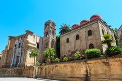 Free San Cataldo And Martorana Churches, Palermo, Sicily, Italy Royalty Free Stock Photos - 106187738