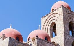 San Cataldo, chiesa normanna palermo sicily immagine stock