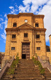 San Cataldo Church, Enna Stock Photos