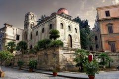 San Cataldo Church. Palermo. Sicily. Stock Photo
