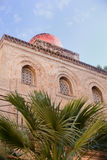 San Cataldo, Norman church in Palermo Stock Images