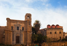 San Cataldo, Norman church in Palermo Royalty Free Stock Images