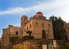 San Cataldo, Norman church in Palermo Royalty Free Stock Photography