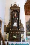 San Catherine di Alessandria d'Egitto Immagine Stock