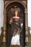 San Catherine di Alessandria d'Egitto Immagini Stock