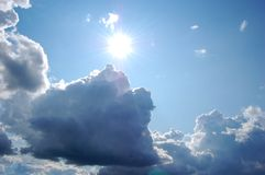 San chmury Obraz Royalty Free