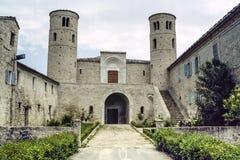 San Claudio al Chienti church Stock Photography