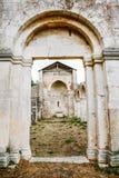 San Clemente-Abteikirche ruiniert Abruzzo-Region Italien Stockfoto