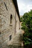 San Clemente-Abteikirche ruiniert Abruzzo-Region Italien Stockfotografie