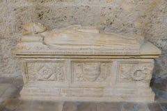 San Clemente-Abteikirche ruiniert Abruzzo-Region Italien Stockbild