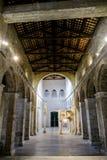 San Clemente-Abteikirche ruiniert Abruzzo-Region Italien Lizenzfreies Stockbild