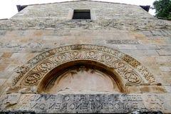 San Clemente-Abteikirche ruiniert Abruzzo-Region Italien Lizenzfreie Stockfotos