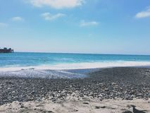 San Clemente Beach Arkivfoto