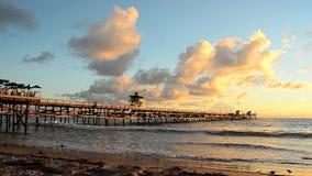 San Clemente Evening video d archivio