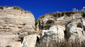 San Clemente Geology 2. Geologic formations at San Clemente, Orange County, California Royalty Free Stock Photo