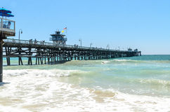 San Clemente Pier Stock Photography