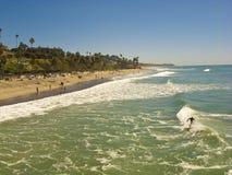 San Clemente que olha sul para a rua de T imagem de stock