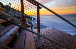 San Clemente Sunrise Royalty-vrije Stock Afbeelding