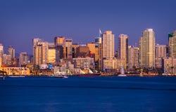 San colorido Diego Skyline Fotos de archivo