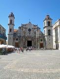 SAN Cristobal στο τετράγωνο καθεδρικών ναών Στοκ Εικόνες