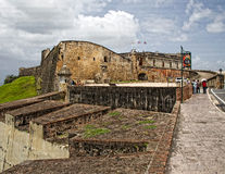 San Cristobal Castle stock foto's