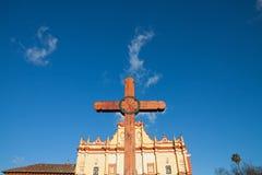 San cristobal Cathedral, Chiapas, Mexico Stock Photography