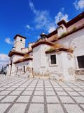 San Cristobal Church in Granada, Spain Royalty Free Stock Images