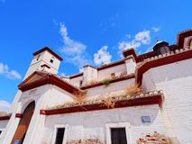 San Cristobal Church in Granada, Spain Stock Photo