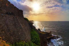San Cristobal coastline Royalty Free Stock Image